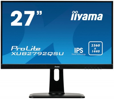 Save £29 at Ebuyer on Iiyama XUB2792QSU-B1 27 IPS WQHD Monitor