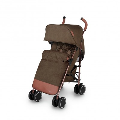 Save £24 at Argos on Ickle Bubba Discovery Max Stroller - Khaki on Rose Gold
