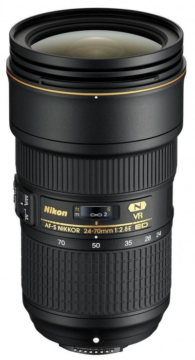 Save £350 at Argos on Nikon AF-S Nikkor 24-70mm f/2.8E ED VR Lens