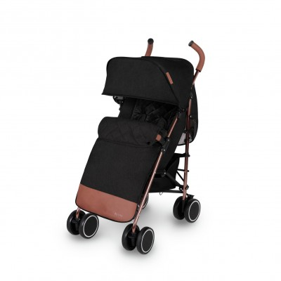 Save £24 at Argos on Ickle Bubba Discovery Max Stroller - Black on Rose Gold