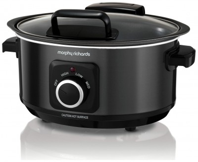 Save £6 at Argos on Morphy Richards 3.5L Hinged Lid Slow Cooker - Black