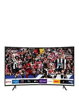 Save £50 at Very on Samsung Ue55Ru7300Kxxu (2019) 55 Inch, Curved Ultra Hd, 4K Certified Hdr Smart Tv