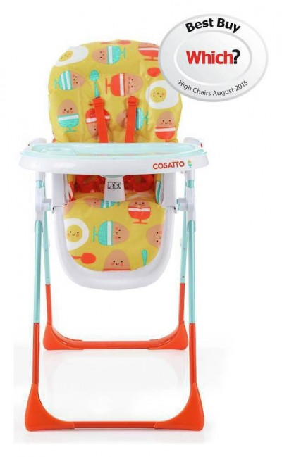 Save £25 at Argos on Cosatto Noodle Supa Highchair Egg and Spoon