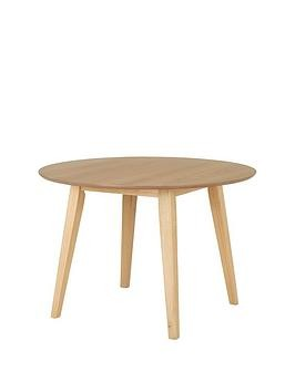 Save £70 at Very on Scandi 110 Cm Round Dining Table