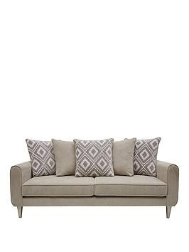 Save £200 at Very on Mylo Fabric 3 Seater Scatter Back Sofa