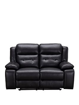 Save £150 at Very on Martelle Real Leather/Faux Leather 2 Seater Manual Recliner Sofa