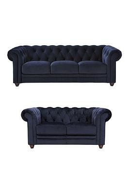 Save £1450 at Very on Laurence Llewelyn-Bowen Cheltenham 3 + 2 Seater Fabric Sofa Set (Buy And Save!)