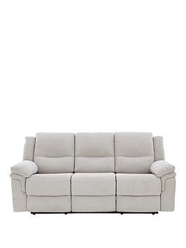 Save £100 at Very on Albion Fabric 3 Seater Manual Recliner Sofa
