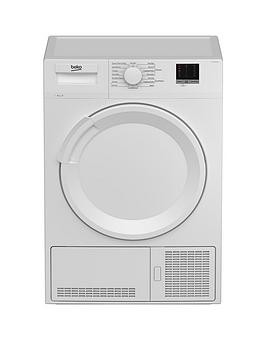 Save £40 at Very on Beko Dtlce80051W 8Kg Load Full Size Condenser Sensor Tumble Dryer - White