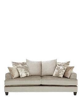 Save £130 at Very on Luxe Collection - Opal 3-Seater Fabric Sofa