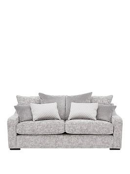 Save £200 at Very on Michelle Keegan Home Mirage 3-Seater Fabric Sofa