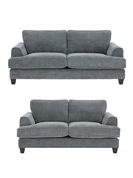 Save £150 at Very on Camden 3 Seater + 2 Seater Fabric Sofa Set (Buy And Save!)