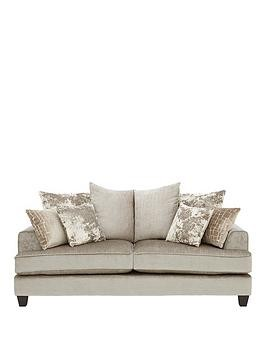 Save £90 at Very on Luxe Collection - Opal 2-Seater Fabric Sofa