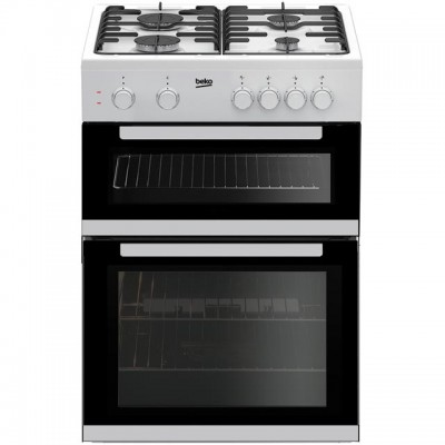 Save £51 at AO on Beko KDG611W 60cm Gas Cooker with Full Width Gas Grill - White - A+/A Rated