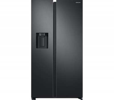 Save £400 at Currys on Samsung American-Style Fridge Freezer Black RS68N8230B1/EU, Black