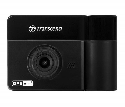 Save £20 at Ebuyer on Transcend Drivepro 550A Dual Lens Dash Camera - With 64GB MicroSD