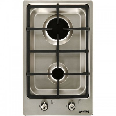 Save £70 at AO on Smeg Classic PGF32G 31cm Gas Hob - Stainless Steel