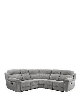 Save £200 at Very on Baron Fabric Manual Recliner Corner Group Sofa