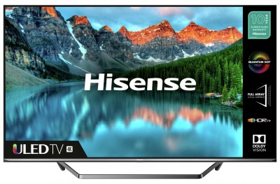 Save £100 at Argos on Hisense 55U7QFTUK 55 Inch Smart 4K Ultra HD QLED TV with HDR