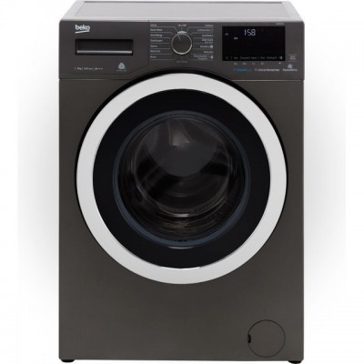 Save £50 at AO on Beko WY84044G 8Kg Washing Machine with 1400 rpm - Graphite - A+++ Rated