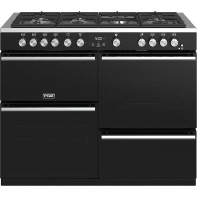 Save £240 at AO on Stoves Precision DX S1100G 110cm Gas Range Cooker with Electric Grill - Black - A/A/A Rated