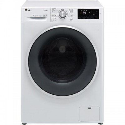 Save £119 at AO on LG J6 F4J609WS 9Kg Washing Machine with 1400 rpm - White - A+++ Rated
