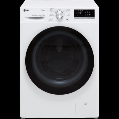 Save £100 at AO on LG V5 F4V509WS Wifi Connected 9Kg Washing Machine with 1400 rpm - White - A+++ Rated