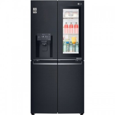 Save £249 at AO on LG InstaView™ Door-in-Door™ GMX844MCKV Wifi Connected American Fridge Freezer - Matte Black - A+ Rated