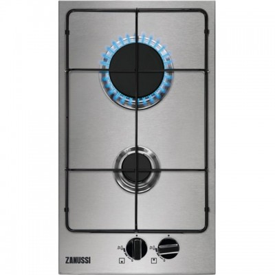 Save £40 at AO on Zanussi ZGNN322X 29cm Gas Hob - Stainless Steel