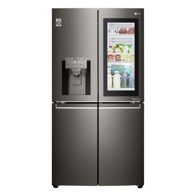 Save £500 at Appliance City on LG GMX936SBHV Instaview Door In Door French Style Fridge Freezer With Ice & Water - BLACK STEEL