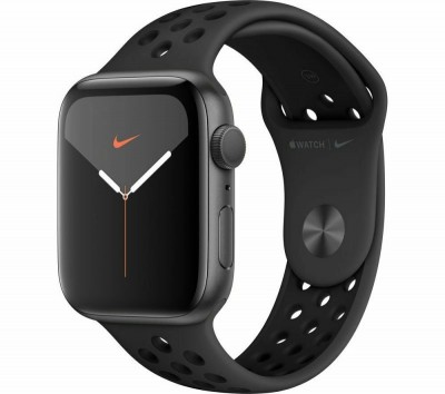 Save £75 at Ebuyer on Apple Watch Nike Series 5 GPS, 44mm Space Grey Aluminium Case with Anthracite/Black Nike Sport Band