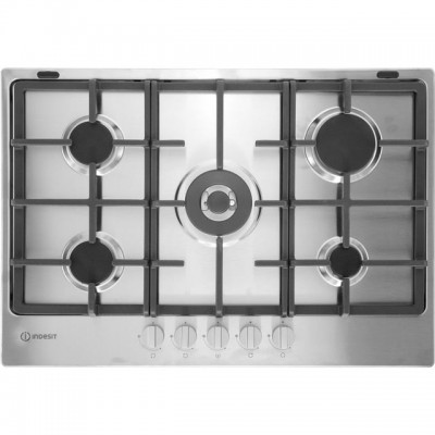 Save £50 at AO on Indesit Aria THP751W/IX/I 75cm Gas Hob - Stainless Steel