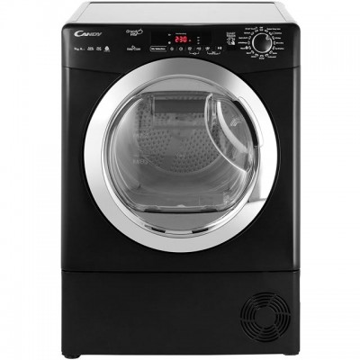 Save £72 at AO on Candy Grand'O Vita GVSH9A2DCEB 9Kg Heat Pump Tumble Dryer - Black - A++ Rated