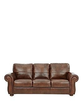 Save £90 at Very on Cassina Italian Leather 3 Seater Sofa