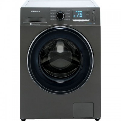 Save £150 at AO on Samsung ecobubble™ WW90J5456FC 9Kg Washing Machine with 1400 rpm - Graphite - A+++ Rated