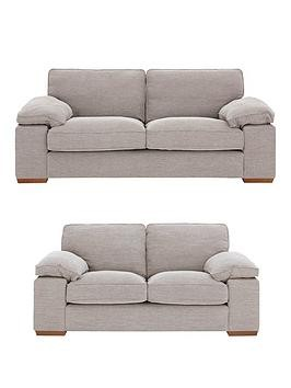 Save £102 at Very on Aylesbury 3 Seater + 2 Seater Fabric Sofa Set (Buy And Save!)