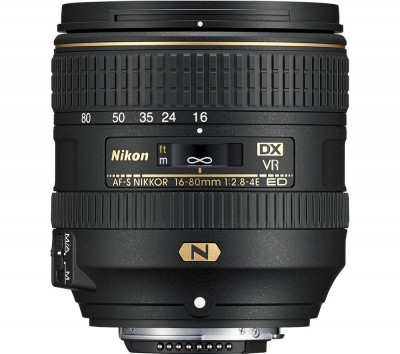 Save £100 at Currys on NIKON AF-S DX NIKKOR 16-80 mm f/2.8-4E ED VR Zoom Lens
