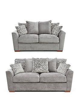 Save £120 at Very on Kingston Fabric 3 Seater + 2 Seater Scatter Back Sofa Set (Buy And Save!)