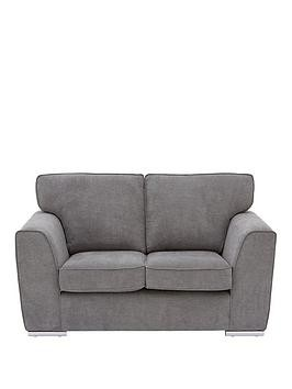 Save £38 at Very on Martine Fabric 2 Seater Sofa - Charcoal