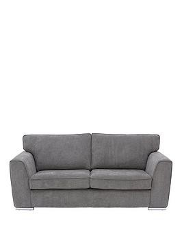 Save £40 at Very on Martine Fabric 3 Seater Sofa - Charcoal