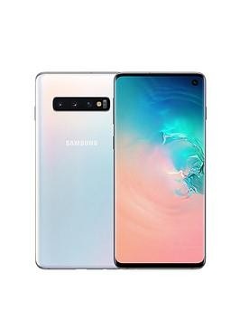 Save £100 at Very on Samsung Galaxy S10 White - 512Gb