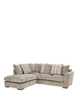 Save £85 at Very on Campbell Fabric Left Hand Scatter Back Corner Group Sofa