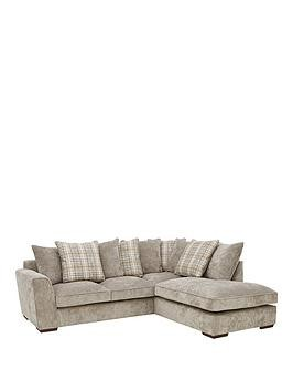 Save £85 at Very on Campbell Fabric Right Hand Scatter Back Corner Group Sofa