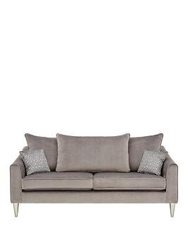 Save £55 at Very on Laurence Llewelyn-Bowen Apollo Fabric 3 Seater Scatter Back Sofa
