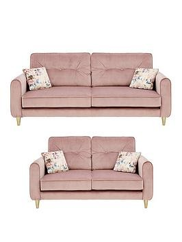 Save £90 at Very on Picadilly Fabric 3 Seater + 2 Seater Sofa Set (Buy And Save!)