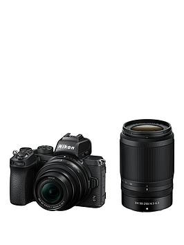 Save £150 at Very on Nikon Z 50 & Nikkor Z Dx 50-250Mm F/4.5-6.3 Vr & Nikkor Z Dx 16-50Mm F/3.5-6.3 Vr