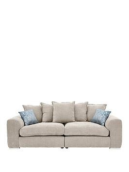Save £80 at Very on Cavendish Sophia 4 Seater Fabric Sofa
