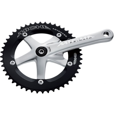 Save £33 at Wiggle on Miche Primato Advanced Silver Track Chainset Chainsets