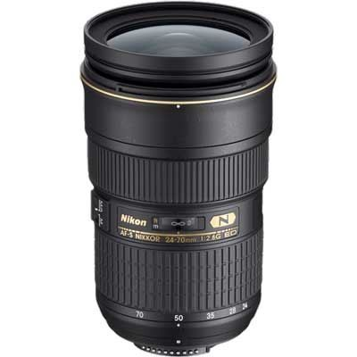 Save £140 at WEX Photo Video on Nikon 24-70mm f2.8 G AF-S ED Lens