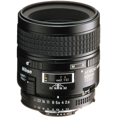 Save £45 at WEX Photo Video on Nikon 60mm f2.8 D AF Micro Nikkor Lens